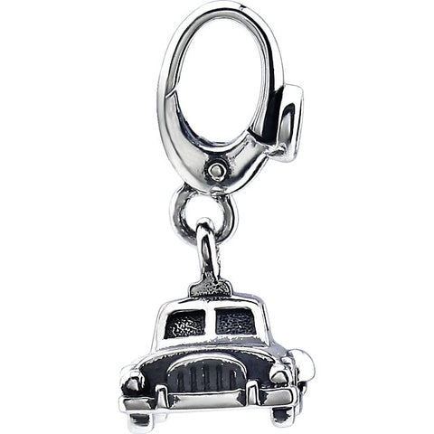 Vintage Car Charm Sterling Silver