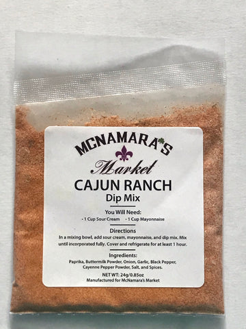 Easy Cajun Ranch Dip Mix From McNamara's Market