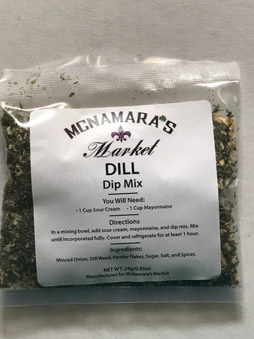 Easy Dill Dip Mix From McNamara's Market