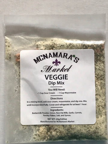 Easy Veggie Dip Mix From McNamara's Market
