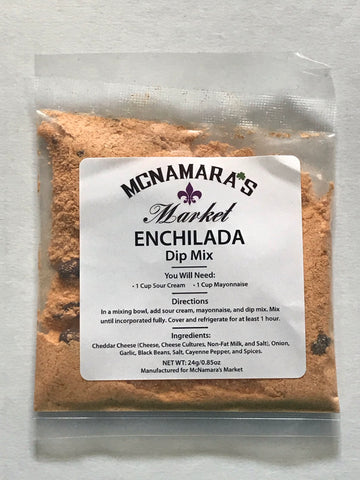 Easy Enchilada Dip Mix From McNamara's Market