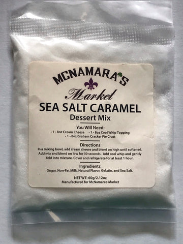 Easy Sea Salt Caramel Dessert Mix From McNamara's Market