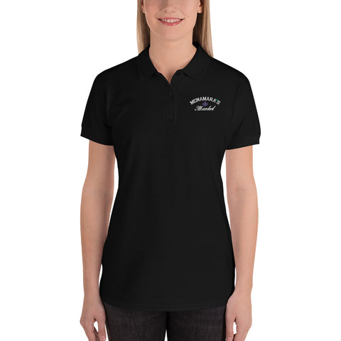 McNamara's Market Embroidered Women's Polo Shirt Golf Shirt from McNamara's Market