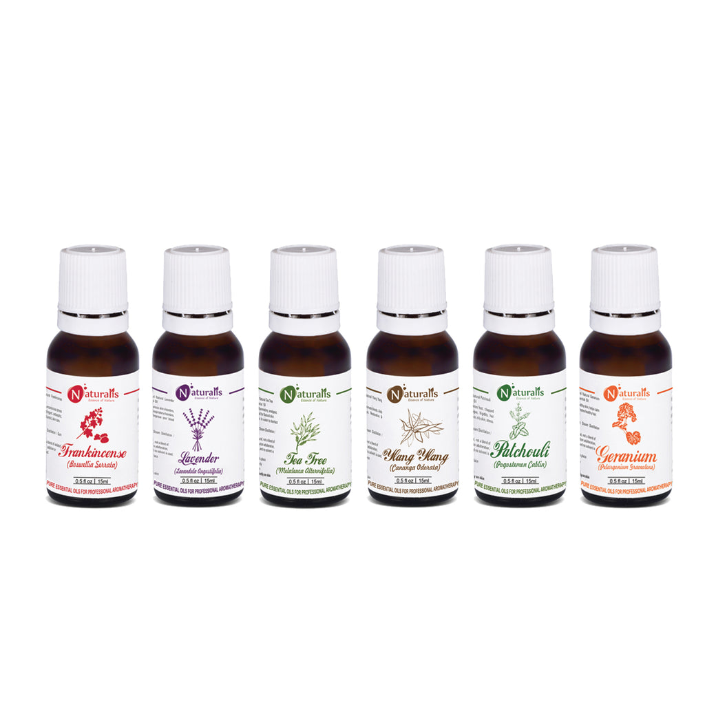 Skin Care Essential Oil Set Of 6 by Naturalis - Pure & Natural