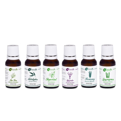 Multipurpose Essential Oil Set Of 6 by Naturalis - Pure & Natural - Naturalis