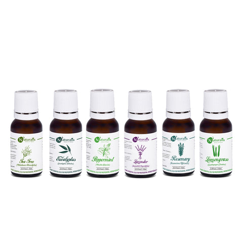 Multipurpose Essential Oil Set Of 6 by Naturalis - Pure & Natural