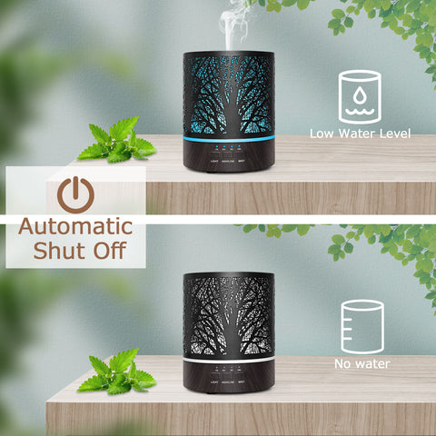 Naturalis Essence of Nature Mist Ultrasonic Aroma Diffuser & Humidifier with free Top 5 Natural Essential Oil