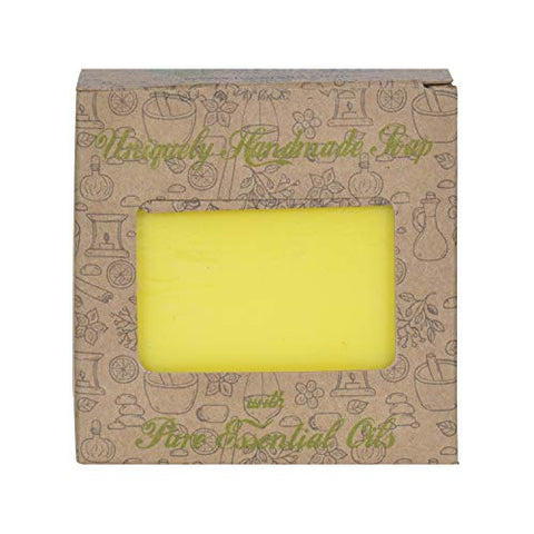 Handmade Soap with Natural Lemon Essential Oil- For skin pigmentation
