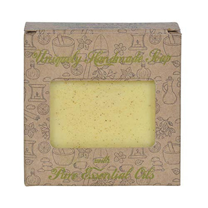 Handmade Soap With Natural Turmeric Essential Oil- For Antimicrobial & Scars - Naturalis