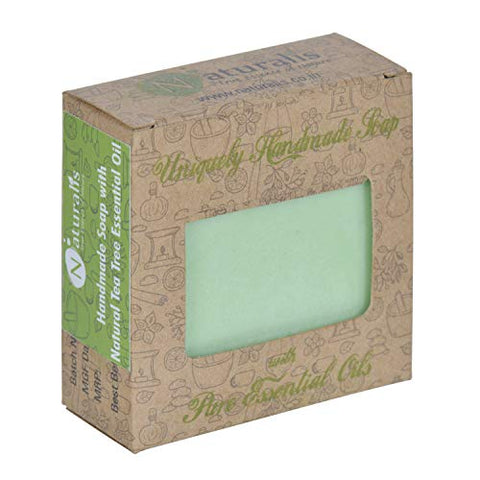 Handmade Soap With Natural High Grade Tea Tree Essential Oil- Antibacterial And Antifungal