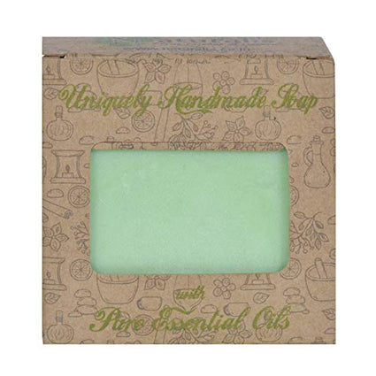 Handmade Soap With Natural Tea tree Essential Oil- Antibacterial and antifungal - Naturalis