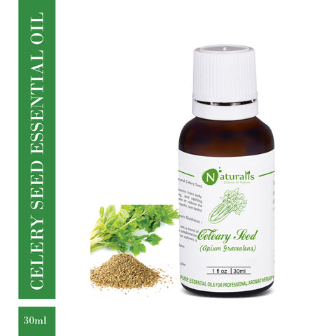 Pure Celery Seed Essential Oil by Naturalis 100ml
