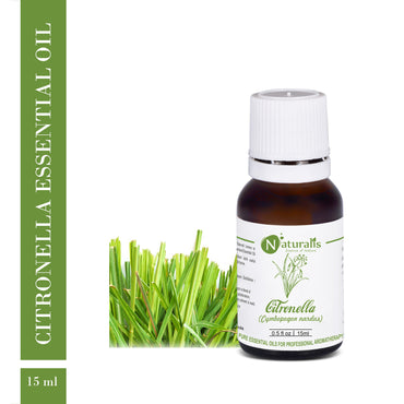 Citronella (Ceylon) Essential Oil by Naturalis - Pure & Natural - Naturalis