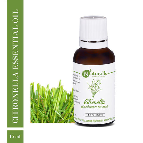 Citronella (Ceylon) Essential Oil by Naturalis - Pure & Natural