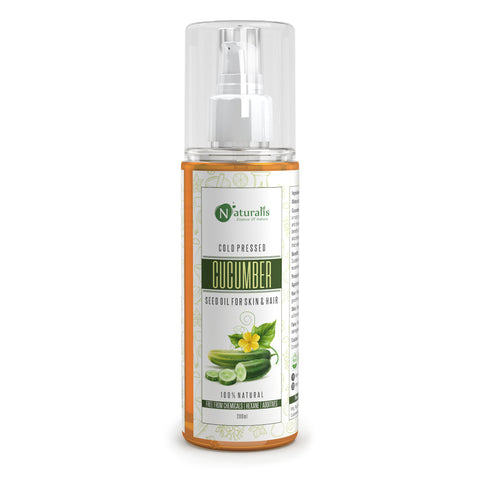 Cucumber Seed Carrier Oil, natural moisturizer for youthful skin, 200ml - Naturalis