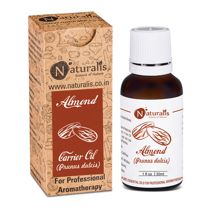 Almond Carrier Oil by Naturalis - Pure & Natural