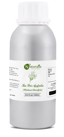 Naturalis Tea Tree Essential Oil - Premium High Grade Pure & Natural - Naturalis