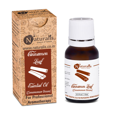 Cinnamon Leaf Essential Oil by Naturalis - Pure & Natural - Naturalis