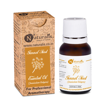 Fennel Seed Essential Oil by Naturalis - Pure & Natural - Naturalis