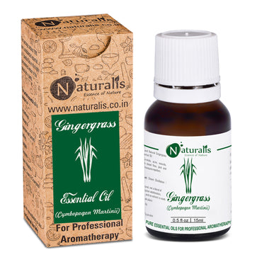 Gingergrass Essential Oil by Naturalis - Pure & Natural - Naturalis