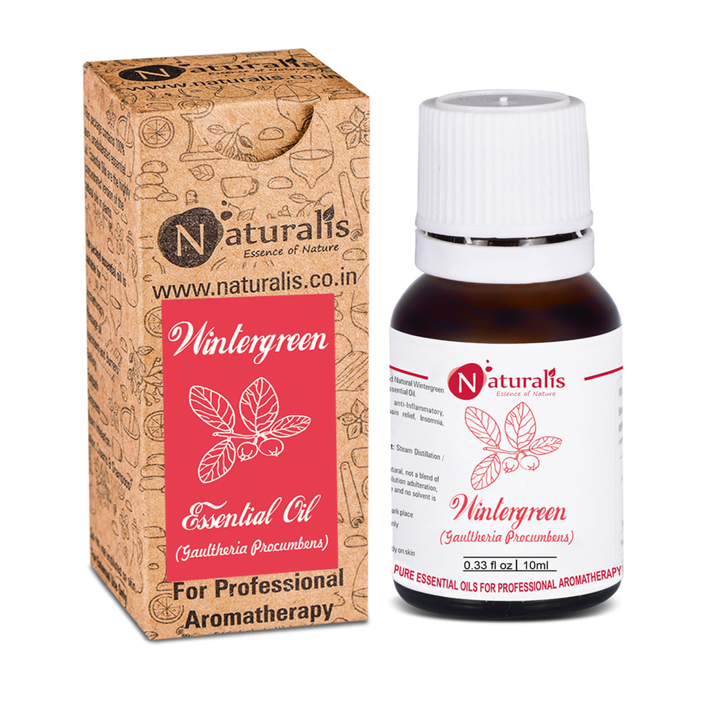 Wintergreen Essential Oil by Naturalis - Pure & Natural