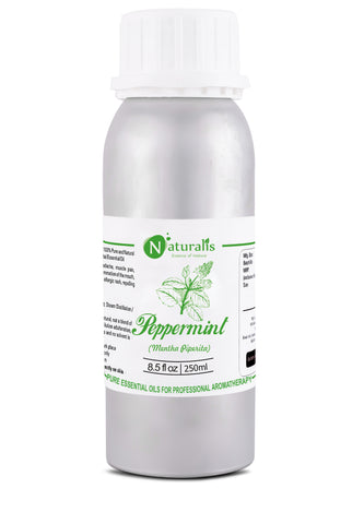 Peppermint Essential Oil by Naturalis - Pure & Natural