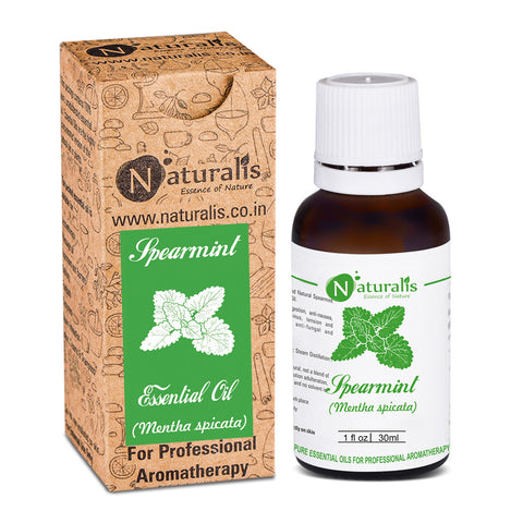 Spearmint Essential Oil by Naturalis - Pure & Natural
