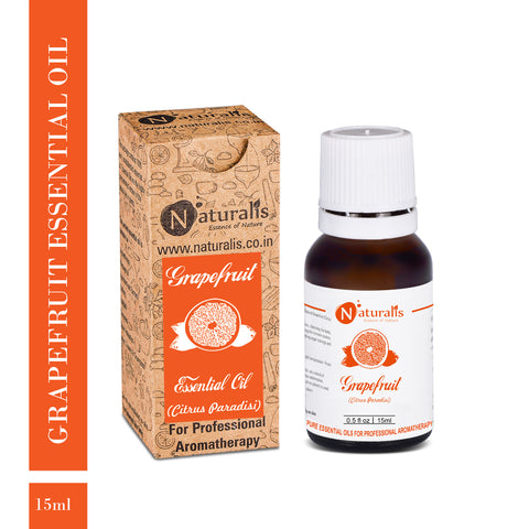 Grapefruit Essential Oil by Naturalis - Pure & Natural