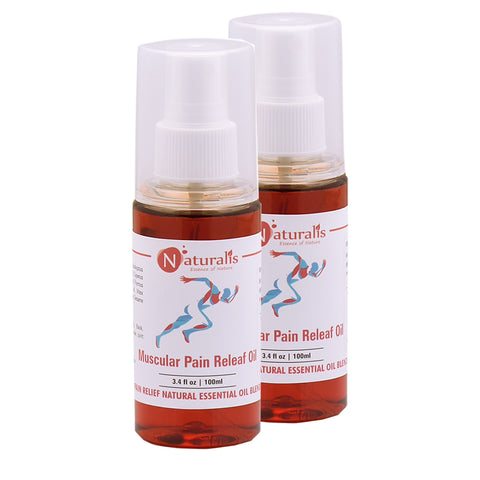 Muscle and Joint Pain Relief Oil 100 Ml - Naturalis