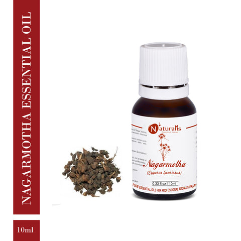 Nagarmotha Essential Oil by Naturalis - Pure & Natural