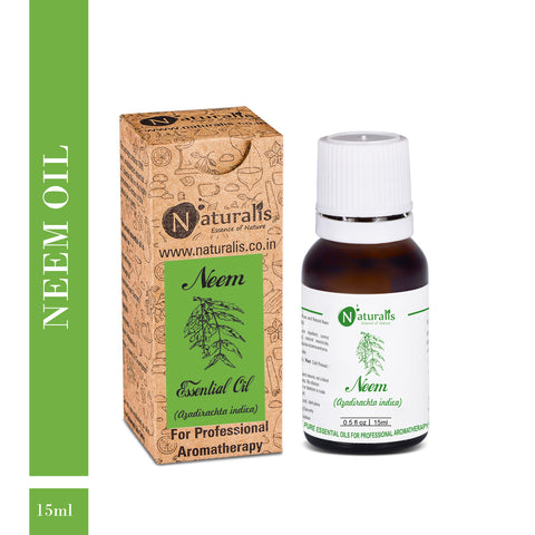 Coldpress Raw Neem Oil by Naturalis - Pure & Natural