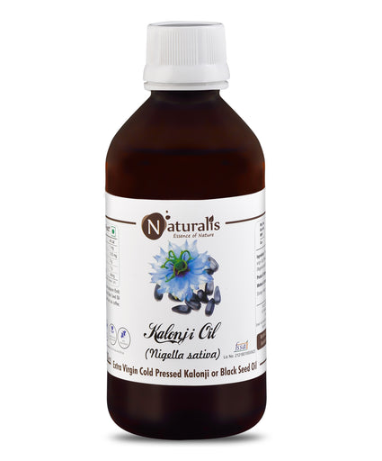 Naturalis Kalonji Oil / Black Seed Oil – Extra Virgin Cold Pressed - Naturalis