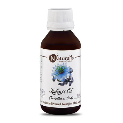 Naturalis Kalonji Oil / Black Seed Oil – Extra Virgin Cold Pressed