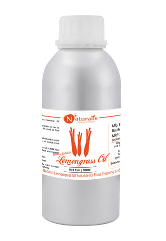 Naturalis Water Soluble Natural Lemongrass Oil Suitable for Floor Cleaning and Room Spray