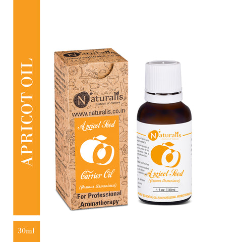 Coldpress Apricot Carrier Oil by Naturalis - Pure & Natural