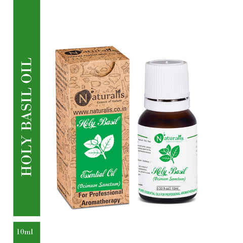 Holy Basil Essential Oil by Naturalis - Pure & Natural