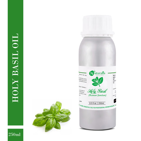 Holy Basil Essential Oil by Naturalis - Pure & Natural - Naturalis