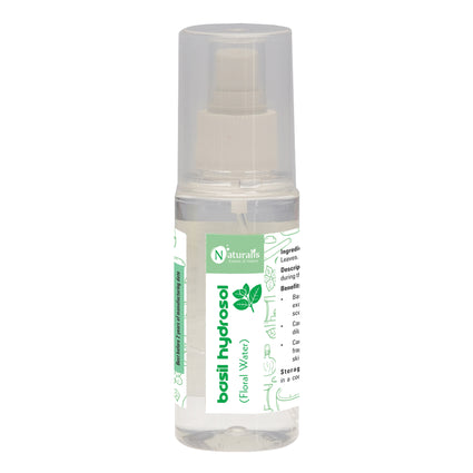 Naturalis Hydrosol- Rose, Geranium, Jasmin, Lavender, Tea Tree, Citronella, Eucalyptus, Basil, Orange,  Lemon, Peppermint and Sandal