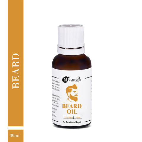 Beard Oil For Hair Growth and Repair by Naturalis - Naturalis