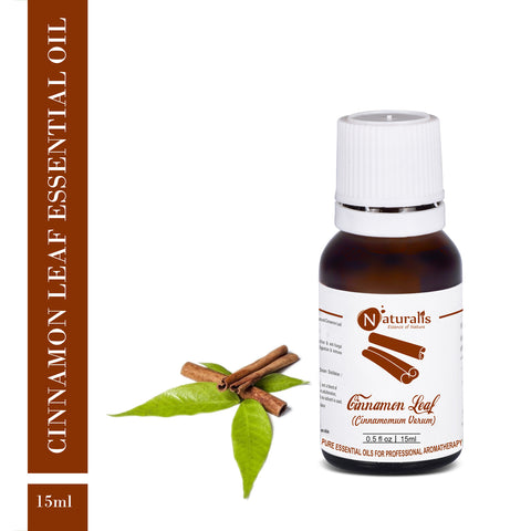 Cinnamon Leaf Essential Oil by Naturalis - Pure & Natural
