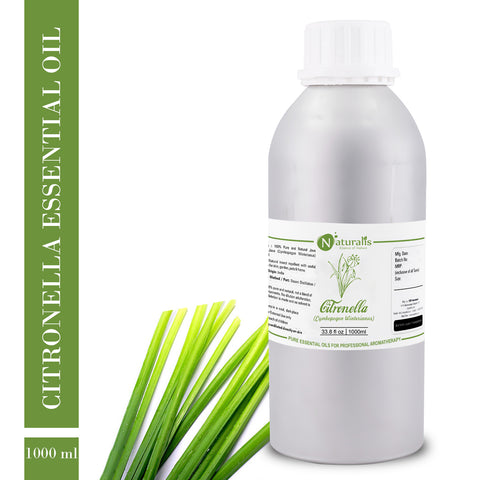 Citronella (Java) Essential Oil by Naturalis - Pure & Natural