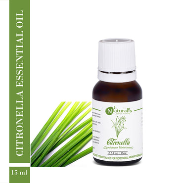 Citronella (Java) Essential Oil by Naturalis - Pure & Natural - Naturalis