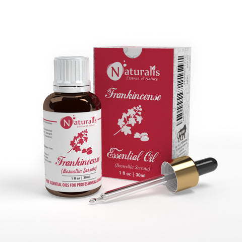 Frankincense Essential Oil by Naturalis- Pure & Natural