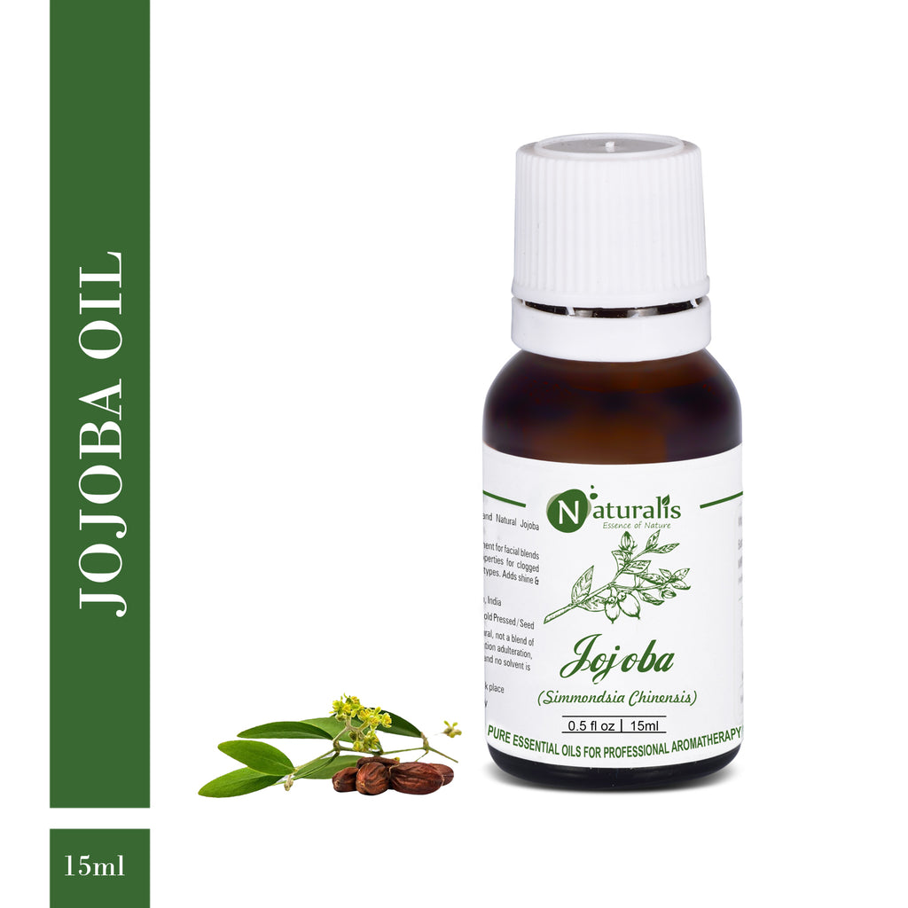 Coldpress Jojoba Carrier Oil by Naturalis - Pure & Natural