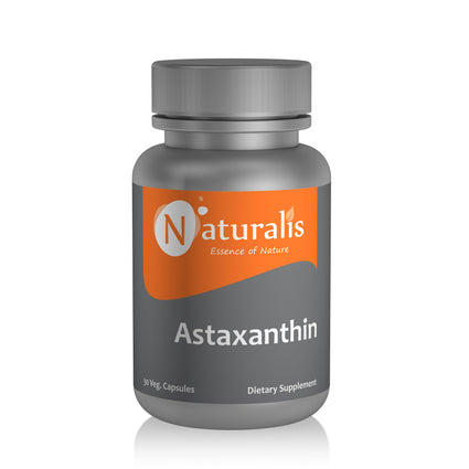 Naturalis Essence of Nature Astaxanthin 4mg (For healthy skin and eyes) – 30 Veg capsules