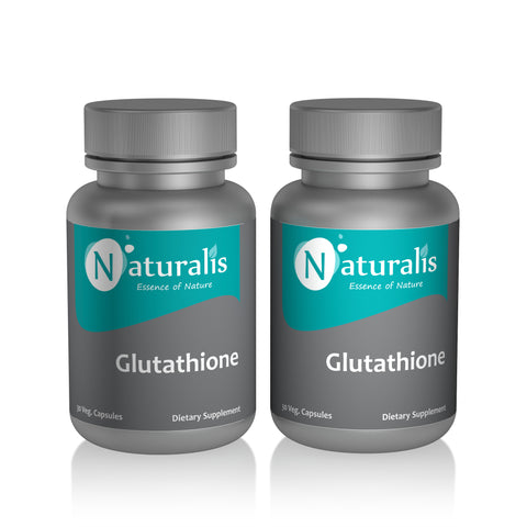 Naturalis Essence of Nature Glutathione 250mg (For Skin and Antioxidant support) – 30 Veg capsules