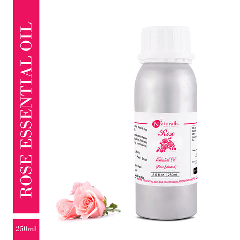 Rose Essential Oil or Rose Otto Essential Oil by Naturalis