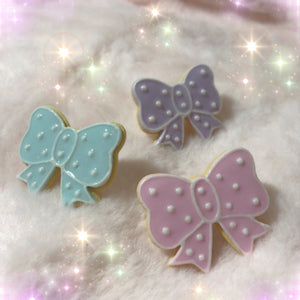 Cookie Bow Ring - plushiepink