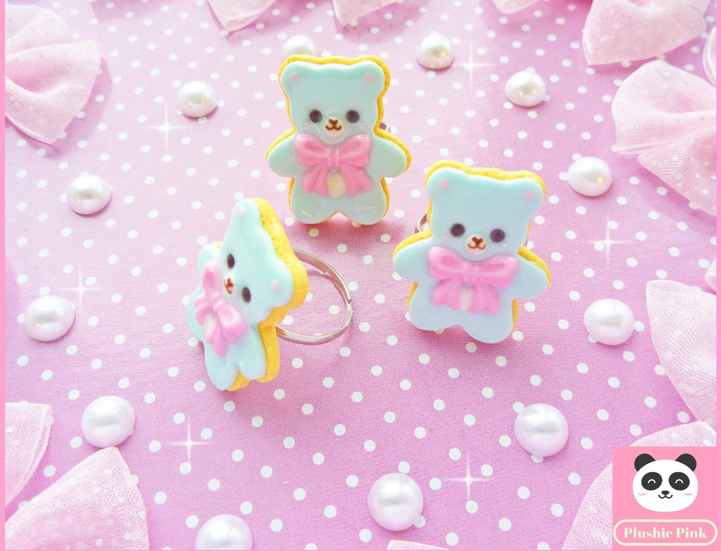 Cookie Bear Ring