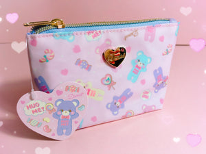 Domiel Tissue Pouch or Make-up Bag - plushiepink